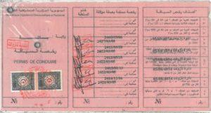 permis étranger